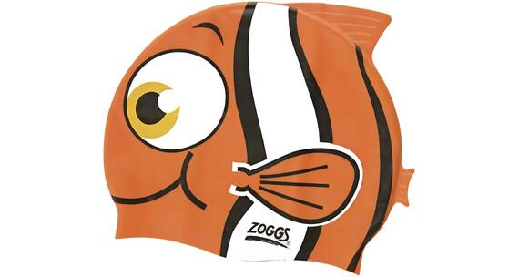 Zoggs Character Silicone Cap Junior Orange